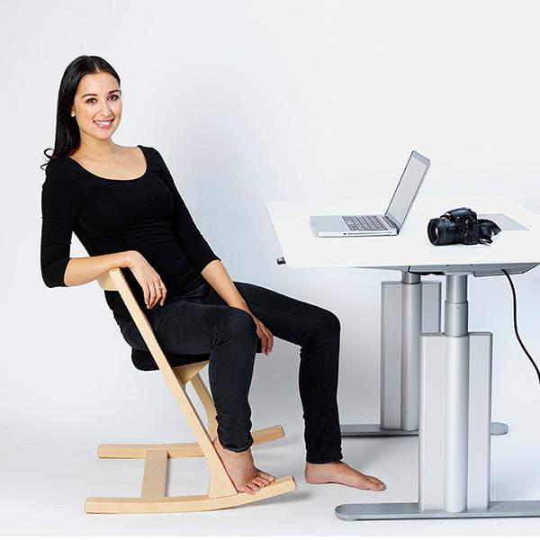 Esszimmer- und Schreibtischstuhl Varier Pendulum